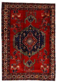 아프샤 러그 169X243 정품  오리엔탈 수제 다크 레드/러스트 레드 (울, 페르시아/이란)