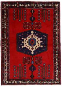 아프샤 러그 171X237 정품  오리엔탈 수제 다크 레드/러스트 레드 (울, 페르시아/이란)