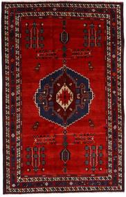아프샤 러그 157X248 정품  오리엔탈 수제 다크 레드/러스트 레드 (울, 페르시아/이란)