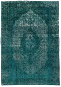 빈티지 Heritage 러그 235X336 정품  모던 수제 다크 터코이즈  /터코이즈 블루 (울, 페르시아/이란)