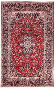 마슈하드 러그 213X344 정품  오리엔탈 수제 다크 퍼플/크림슨 레드 (울, 페르시아/이란)