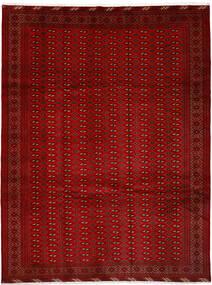 Turkaman 러그 252X337 정품 오리엔탈 수제 크림슨 레드/러스트 레드 대형 (울, 페르시아/이란)