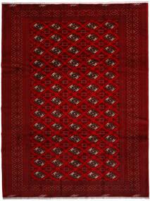 Turkaman 러그 258X344 정품 오리엔탈 수제 크림슨 레드/다크 레드/다크 브라운 대형 (울, 페르시아/이란)