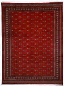 파키스탄 보카라 2Ply 러그 272X364 정품 오리엔탈 수제 다크 레드/크림슨 레드 대형 (울, 파키스탄)