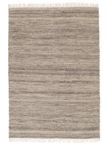 Chinara - 갈색/흰색 러그 160X230 정품 모던 수제 브라운/라이트 그레이 (울, 인도)