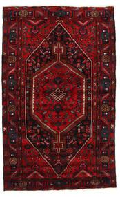 하마단 러그 137X223 정품 오리엔탈 수제 다크 레드/크림슨 레드 (울, 페르시아/이란)