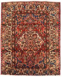 바흐티아리 러그 174X214 정품 오리엔탈 수제 다크 브라운/다크 레드 (울, 페르시아/이란)