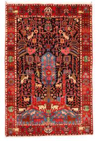 Nahavand 올드 러그 165X247 정품 오리엔탈 수제 다크 레드/베이지 (울, 페르시아/이란)