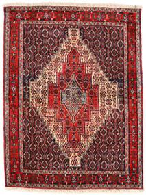 세너 러그 123X163 정품  오리엔탈 수제 다크 브라운/다크 레드 (울, 페르시아/이란)