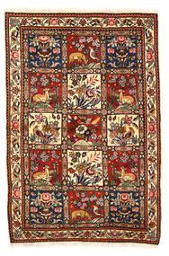 바흐티아리 Collectible 러그 115X170 정품  오리엔탈 수제 다크 브라운/화이트/크림 (울, 페르시아/이란)