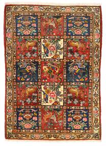 바흐티아리 Collectible 러그 115X155 정품 오리엔탈 수제 다크 브라운/크림슨 레드 (울, 페르시아/이란)