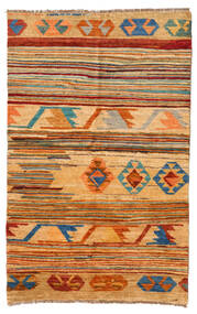 Moroccan 베르베르 - Afghanistan 러그 116X181 정품  모던 수제 라이트 브라운/옐로우 (울, 아프가니스탄)