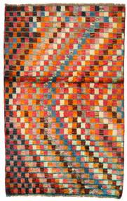 Moroccan 베르베르 - Afghanistan 러그 86X134 정품  모던 수제 크림슨 레드/오렌지 (울, 아프가니스탄)