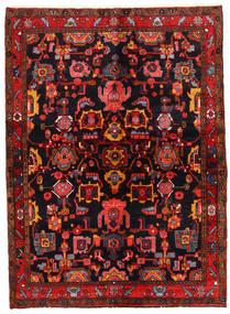 Lillian 러그 146X200 정품 오리엔탈 수제 다크 브라운/다크 레드 (울, 페르시아/이란)