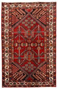 Rudbar 러그 130X200 정품  오리엔탈 수제 다크 레드/러스트 레드 (울, 페르시아/이란)