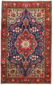 타브리즈 러그 100X165 정품 오리엔탈 수제 러스트 레드/다크 그레이 (울, 페르시아/이란)