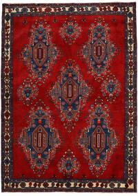 아프샤/Sirjan 러그 168X235 정품  오리엔탈 수제 다크 레드/다크 퍼플 (울, 페르시아/이란)