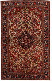 Lillian 러그 148X240 정품  오리엔탈 수제 다크 브라운/다크 레드 (울, 페르시아/이란)