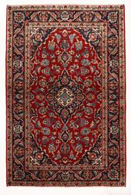 케샨 러그 97X147 정품  오리엔탈 수제 다크 레드/베이지 (울, 페르시아/이란)
