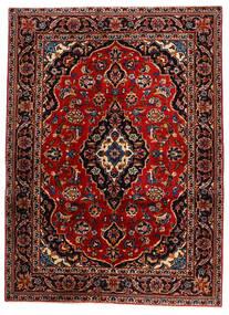 케샨 러그 132X183 정품  오리엔탈 수제 다크 레드 (울, 페르시아/이란)