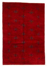 Huttan 러그 125X183 정품  오리엔탈 수제 다크 레드 (울, 파키스탄)