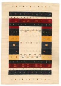 로리바프 Loom 러그 168X236 정품  모던 수제 베이지/블랙 (울, 인도)