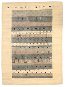 로리바프 Loom 러그 174X241 정품  모던 수제 베이지/라이트 그레이 (울, 인도)
