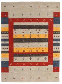 로리바프 Loom 러그 175X240 정품  모던 수제 라이트 그레이/러스트 레드 (울, 인도)
