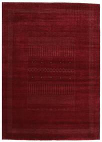 가베 Loribaft 러그 201X281 정품 모던 수제 다크 레드 (울, 인도)