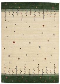 로리바프 Loom 러그 175X243 정품  모던 수제 베이지/다크 그린 (울, 인도)