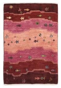 가베 Persia 러그 59X90 정품  모던 수제 다크 레드/라이트 핑크 (울, 페르시아/이란)