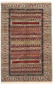 Turkaman 러그 162X246 정품 오리엔탈 수제 다크 브라운/라이트 브라운 (울, 페르시아/이란)