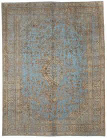 빈티지 Heritage 러그 292X379 정품 모던 수제 라이트 그레이/다크 그레이 대형 (울, 페르시아/이란)