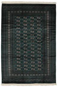 파키스탄 보카라 2Ply 러그 190X277 정품  오리엔탈 수제 블랙 (울, 파키스탄)