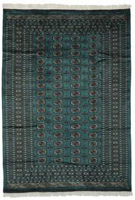 파키스탄 보카라 2Ply 러그 180X255 정품  오리엔탈 수제 블랙/다크 그린 (울, 파키스탄)
