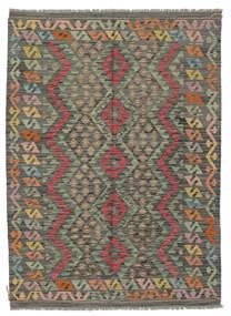 킬림 아프가니스탄 올드 스타일 러그 129X179 정품  오리엔탈 수제 다크 그린/다크 브라운 (울, 아프가니스탄)