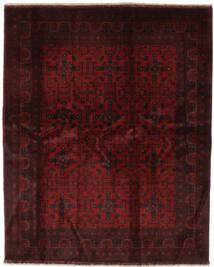 아프가니스탄 Khal Mohammadi 러그 187X231 정품  오리엔탈 수제 블랙 (울, 아프가니스탄)