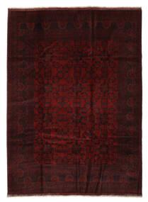 아프가니스탄 Khal Mohammadi 러그 210X293 정품  오리엔탈 수제 블랙/화이트/크림 (울, 아프가니스탄)