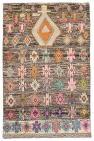Moroccan 베르베르 - Afghanistan 러그 118X180 정품  모던 수제 다크 브라운 (울, 아프가니스탄)