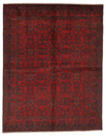 아프가니스탄 Khal Mohammadi 러그 177X225 정품 오리엔탈 수제 블랙/다크 레드 (울, 아프가니스탄)