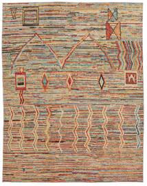 Moroccan 베르베르 - Afghanistan 러그 241X303 정품  모던 수제 다크 브라운/브라운 (울, 아프가니스탄)