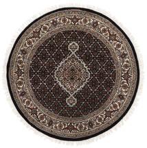 타브리즈 Royal 러그 Ø 120 정품  오리엔탈 수제 원형 블랙/화이트/크림 ( 인도)