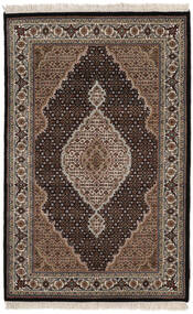 타브리즈 Royal 러그 118X186 정품  오리엔탈 수제 블랙/다크 브라운 ( 인도)