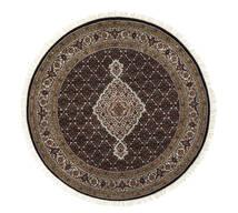 타브리즈 Royal 러그 Ø 151 정품  오리엔탈 수제 원형 화이트/크림/블랙 ( 인도)