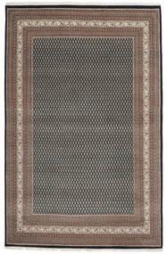 Mir 인도 러그 200X309 정품  오리엔탈 수제 다크 브라운/블랙 (울, 인도)